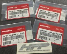 4 Honda Factory Performance HFP Decals 3.5x1 Stickers Wheels Civic Accord OEM