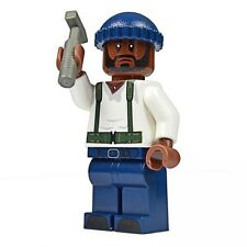 LEGO Custom PRINTED Walking Dead Tyreese Zombie Hunter  Minifig Minifigure