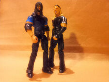 Elite Jeff Matt Hardy Boyz Mattel Proto WWE w Shirts & Roman Reigns Shield Image
