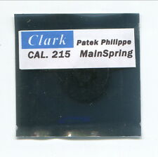 "Mainspring for Patek Philippe Calibre 215  ""CLARK""  Replacement"