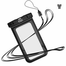 Universal Waterproof Case, YOSH Cell Phone Dry Bag Pouch for Apple iPhone NEW