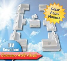 Solar Panel Mounting bracket kit + cable Entry Gland,perfect for motorhome,boat