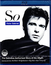 PETER GABRIEL so the definitive authorised story of the album Blu-ray NEU OVPl