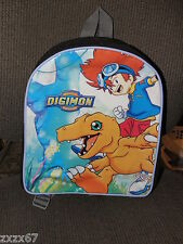 """NEW DIGIMON AGUMON SMALL BACKPACK  can be used as DIAPER BAG 10"""" X 15"""""""