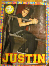 Justin Bieber, Avan Jogia, Double Sided Four Page Foldout Poster