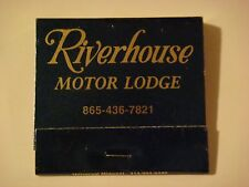 Matches Matchbook: RIVERHOUSE Motor Lodge ~ Smoky Mtns ~ Gatlinburg, TENNESSEE
