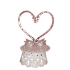 Wedding Cake top stand accessories 2 swans back & base