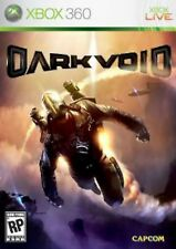 XBOX 360 Dark Void Video Game capcom aliens flight shooter fps fighting COMPLETE