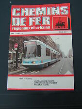 Chemins de fer secondaires 201 1987 tramways SèTE tramway GRENOBLE Maggaly LYON