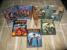3 Harry PotterThe Sorcerer's Stone-Chamber of Secrets-Prisoner of Azkaban 2DVD@