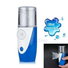 Portable Ultrasonic Nebulizer Handheld Respirator Humidifier Battery Operated