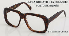 ULTRA GOLIATH II EYEGLASSES VINTAGE OCEAN'S 11 CASINO Robert de Niro (BROWN) NEW