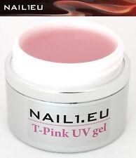 30ml Aufbaugel NAIL1EU T-PINK rosa milchig/ UV Builder Aufbau Gel 1-Phasen-Gel