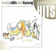 Crosby Stills Nash And Young - So Far Greatest Hits (2008) - New - Compact
