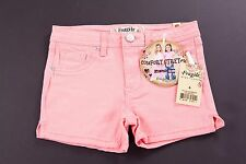 FRAGILE BLUE JEANS KIDS GIRLS PEACH COMFORT STRETCH DENIM SHORTS SZ: 6 NWT
