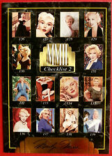 """Sports Time Inc."" MARILYN MONROE Card # 197 individual card, issued in 1995"