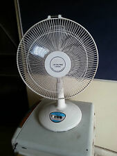 RAJIVIHAAN 12V Solar DC Table FAN - 20 Watt, 3 Speed Oscillating