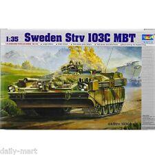 Trumpeter 1/35 00310 Sweden Strv 103C MBT Model Kit