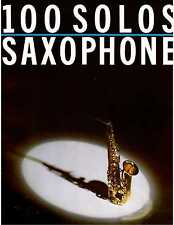Saxophone Sheet Music 100 Solos Beatles, Music Man. Louis Armstrong, Entertainer
