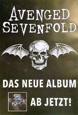 AVENGED SEVENFOLD  2016  ALBUM - orig.Concert Poster -- Konzert Plakat  A1 NEU