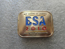 2010-100th ANNIVERSARY OF SCOUTING BELT BUCKLE