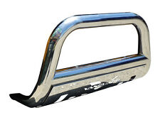 T-304 16 TOYOTA RAV4 SE FRONT BULL BAR WITH PLATE BUMPER PROTECTOR GUARD S/S