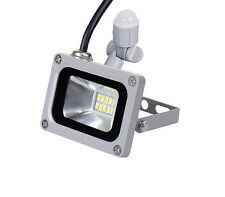 Mini 10W LED Motion PIR Sensor Outside Security Wall Flood Work Shop Light Lamp