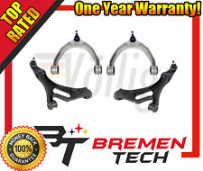 NEW AUDI VOLKSWAGEN VW TOUAREG Q7 FRONT UPPER & LOWER CONTROL ARM PAIR KIT 4 PCS
