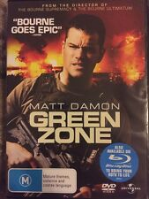 Green Zone (DVD, 2010) Free Post!!