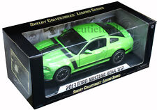 Shelby Collectibles 2013 Ford Mustang Boss 302 1:18 Diecast Green SC453