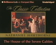 THE HOUSE OF SEVEN GABLES unabridged audio book on CD by NATHANIEL HAWTHORNE