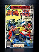 COMICS: DC: Brave and the Bold #149 (1979), Batman/Teen Titans - RARE