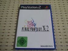 Final Fantasy x-2 pour playstation 2 ps2 ps 2 * OVP *