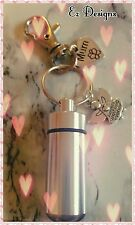Cremation Ashes/keepsake Urn Keyring  For MUM Memorial Gift Mothers Day Freepost