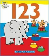 123 (Baby's First Learning Books),GOOD Book