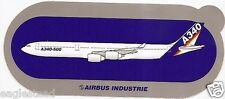 Baggage Label - Airbus - A340 500 - House - Sticker (BL483)