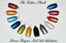 GNI Nail Additives® *Fresco Fingers 12 Pots�� Suitable for ALL Nail Mediums