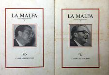 (Politica) LA MALFA  DISCORSI PARLAMENTARI  Camera dei Deputati 1986