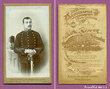 CDV À DIJON : SOLDAT MILITAIRE DU 26ème RÉGIMENT DE DRAGONS VERS 1890-I2