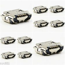 Lot 10 Micro USB Charger Charging Port Dock Connector Part For Nokia Lumia 822