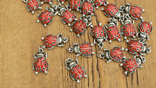 3 Colgantes Lady Bug encantos/10 mm