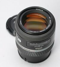 MINOLTA MAXXUM 100MM F/2.8 VARIABLE SOFT FOCUS AF LENS -- SONY A-MOUNT -- N MINT