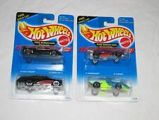Hot Wheels Set of 2 Steel Stamp Series and Set of 2 Krackle Series, 1994
