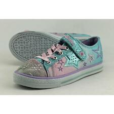 Skechers Twinkle Wishes Enchanters Youth US 1 Blue Sneakers Defect  19088