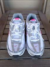 "Nike ""Initiator"" White/Silver/Pink Running Shoes Women's  8.5"