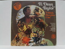 R.Dean Taylor vinyl LP I Think Therefore I Am 1970 Indiana Wants Me Rare Earth