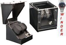 Luxury Display Dual Automatic Watch Winder-model: Galaxy-2CFZ-Chrome