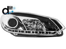 Fari D-LITE VW Golf VI 08+ luci diurne LED chrome