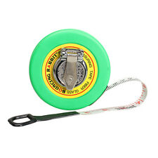 Fiber Soft Measuring Tape Ruler 10m Metric Markings Architecture   #Cu3
