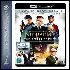 KINGSMAN - Samuel L. Jackson  *BRAND NEW 4K ULTRA HD BLURAY + DIGITAL COPY *** *